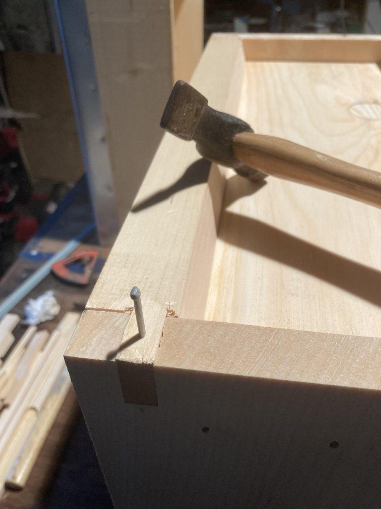 Final broodbox nails.
